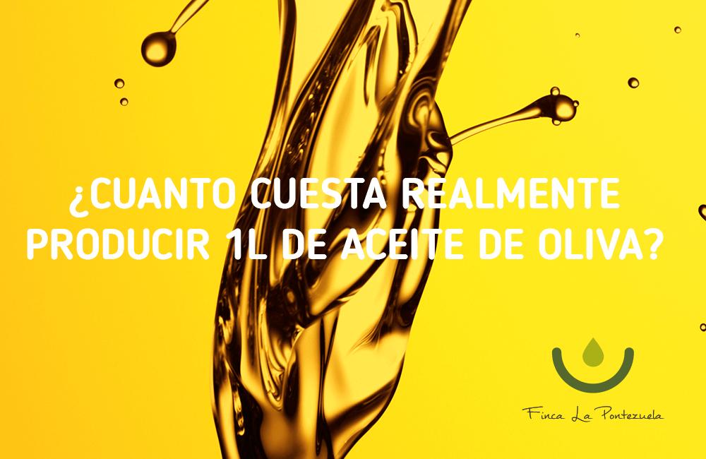 El precio del aceite de oliva y lo que cuesta producirlo