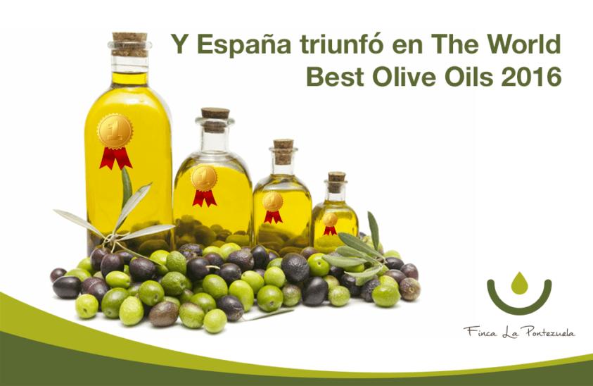 World Best Olive Oils 2016, el papel de España