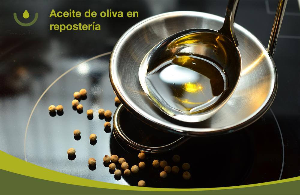 repostería y aceite de oliva