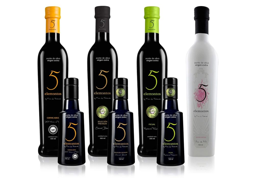 Aceite de oliva 5 elementos