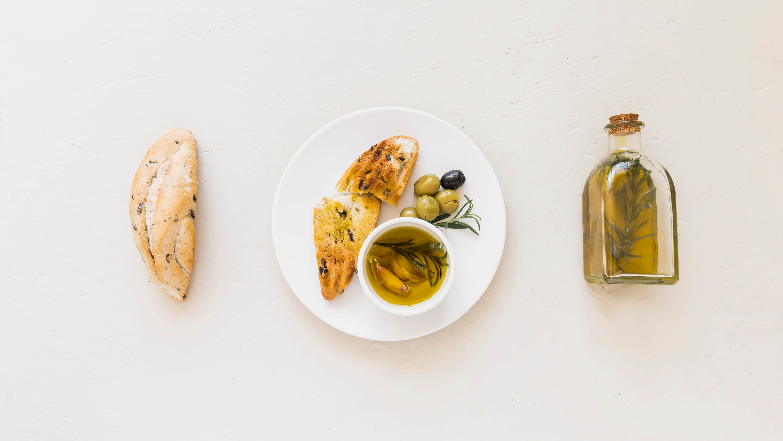 Pan de aceite de oliva virgen extra