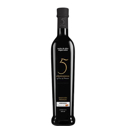 5 elementos arbequina 500 ml