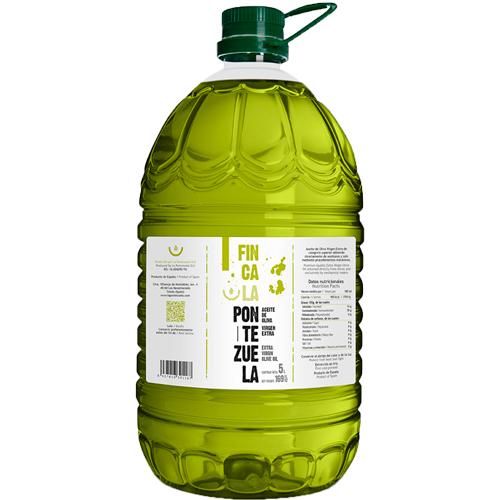 Aceite Finca la Pontezuela Arbequina 5L