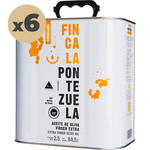 Aceite Finca la Pontezuela Cornicabra 6x2'5L