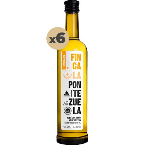 Aceite Finca la Pontezuela Cornicabra 6x500 ml