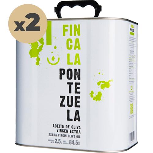 Aceite Finca la Pontezuela Picual 2x2'5L