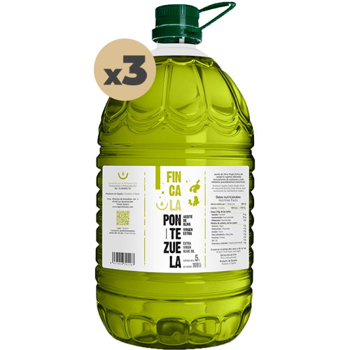 Aceite Finca la Pontezuela Picual 3x5L
